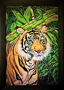 Exclusive Print Sumatran Tiger on canvas 61cm x 87cm.jpg