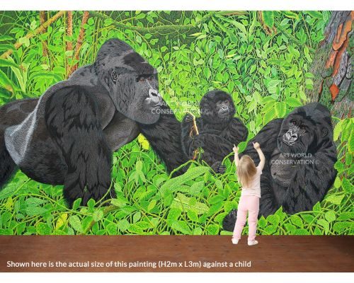 Gorillas In the Virungas